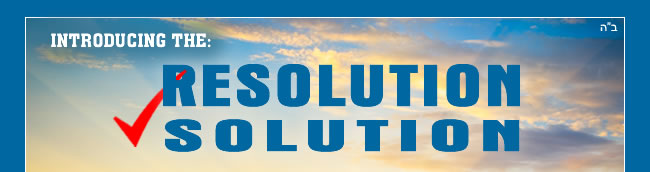 Resolution Solution