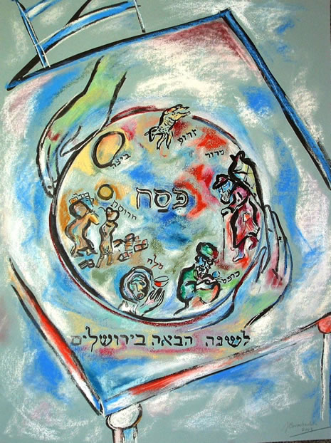 Passover Art Gallery - Experience Passover through our ...