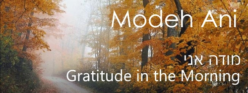 The Modeh Ani Prayer - Gratitude in the Morning - Chabad.org