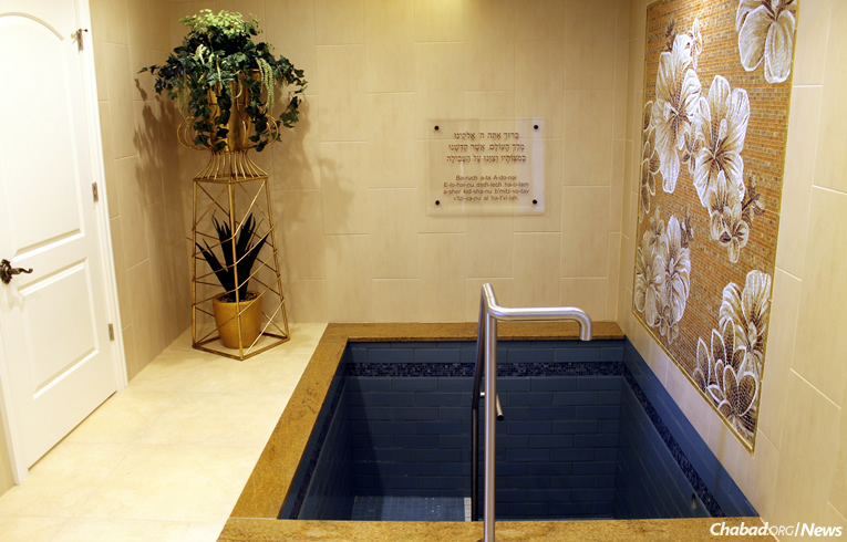 New Mikvah For 374 Year Old Long Island Town