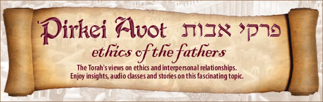 Pirkei Avot - Chabad Lubavitch of Edmonton