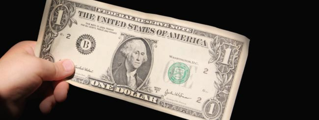 what does a dollar from the rebbe represent