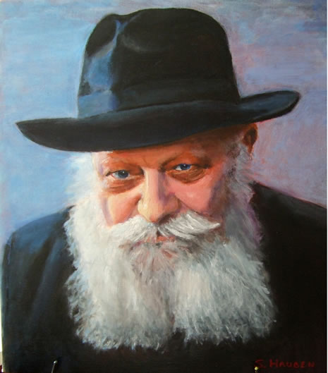 Portait of the Rebbe