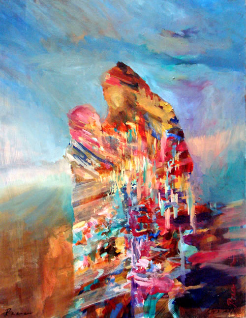 Joseph Coat Of Many Colors Painting