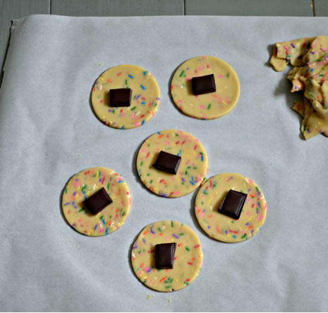 Chocolate Filled Funfetti Hamantaschen Recipes Jewish Kids