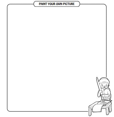 12 Page New Passover Coloring Book Printables Jewish Kids