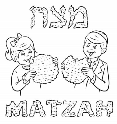 passover coloring pages for kids - photo#10