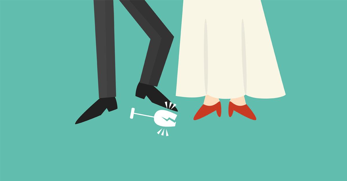 Why Break A Glass At Jewish Wedding