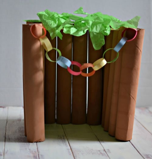 Make A Model Sukkah Crafts Amp Coloring Pages Jewish Kids