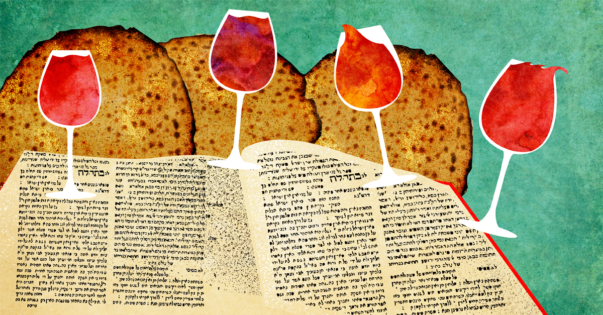 What are the different pieces of food on a Passover Seder Plate, and what are their purposes?