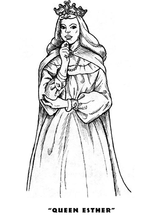 Queen Esther Coloring Book