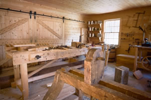 Wood Shed Organization