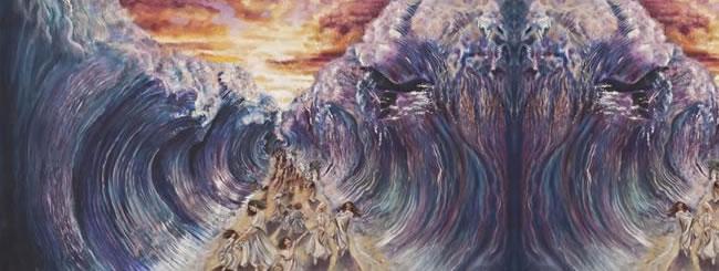 Splitting of Sea - By Natalia Kadish