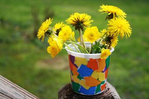 decorative flower vase - children u0026 39 s crafts